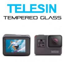 Стекло защитное Telesin на экран и объектив GoPro Hero 5, 6, 7, Hero 2018