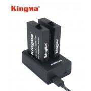 Комплект Kingma для GoPro Fusion (2 аккумулятора и зарядное)