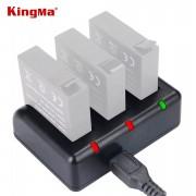 Зарядное устройство Kingma тройное для Xiaomi Yi 4K, YI 4K+, Yi Lite