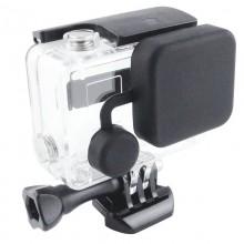 Колпачок на объектив бокса GoPro Hero 3+, 4 Силиконовый