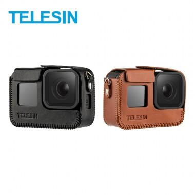 Чехол кожаный Telesin для GoPro Hero 8 Black