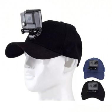Кепка, Бейсболка с креплением для GoPro и других экшн-камер
