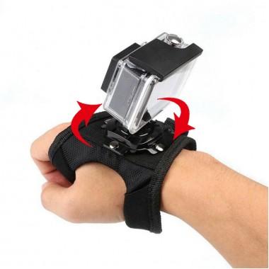 Крепление перчатка на руку поворотное