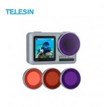 Комплект цветных фильтров Telesin для DJI Osmo Action