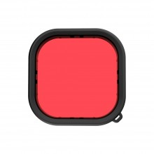 Фильтр Telesin красный для дайвинга для GoPro Hero 9, 10 Black