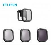 Нейтральные ND и поляризационный CPL фильтры Telesin для GoPro Hero 8 Black