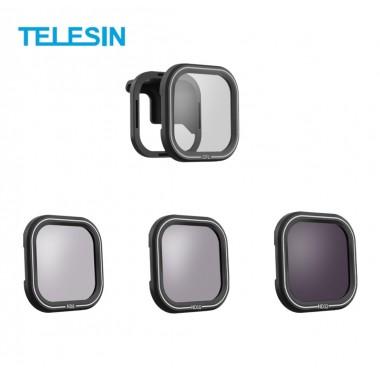 ФИЛЬТРЫ для GoPro Hero 8 Black НАБОР ND и CPL Telesin GP-FLT-807