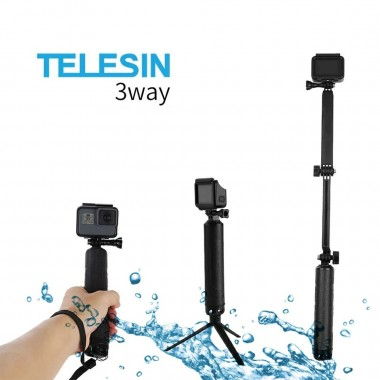 Монопод Telesin 3-Way плавающий