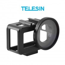 Алюминиевая Рамка Telesin с UV фильтром для DJI Osmo Action