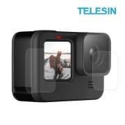 Стекло защитное Telesin на экраны и объектив GoPro Hero 9 Black