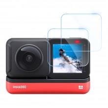 Стекла защитные Telesin для Insta360 ONE R 360