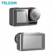 Защитные стекла Telesin на экраны и объектив DJI Osmo Action