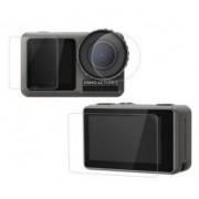 Защитное стекло на экраны и объектив DJI Osmo Action