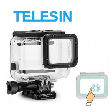 Аквабокс Telesin для GoPro Hero 7, 6, 5, 2018, сенсорный