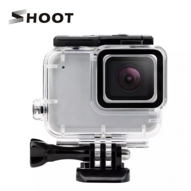 "Аквабокс для GoPro Hero 7 Silver, White ""SHOOT"""