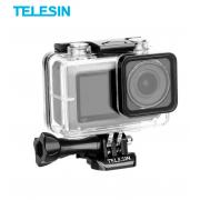 Аквабокс Telesin для DJI Osmo Action, с квадратным объективом