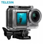 Аквабокс Telesin для DJI Osmo Action, с круглым объективом