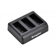 Зарядное устройство Kingma тройное для GoPro Hero 9, 10 Black
