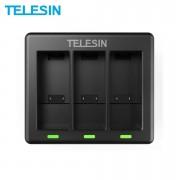 Зарядное устройство Telesin тройное для GoPro Hero 9, 10 Black