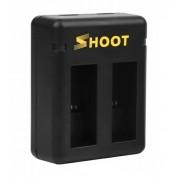 Зарядное устройство SHOOT для GoPro Hero 5, 6, 7, 8, Hero 2018