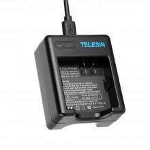 Зарядное устройство Telesin для Xiaomi Yi 4K, YI 4K+, Yi Lite