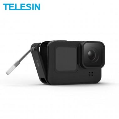 Боковая дверца Telesin под зарядку для GoPro Hero 9 Black